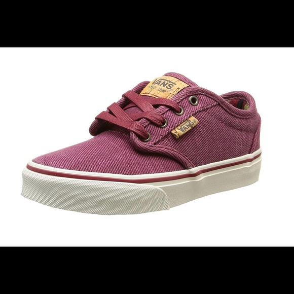 Vans Atwood deluxe boy s washed twill sneakers 3.5 e21bbae80e